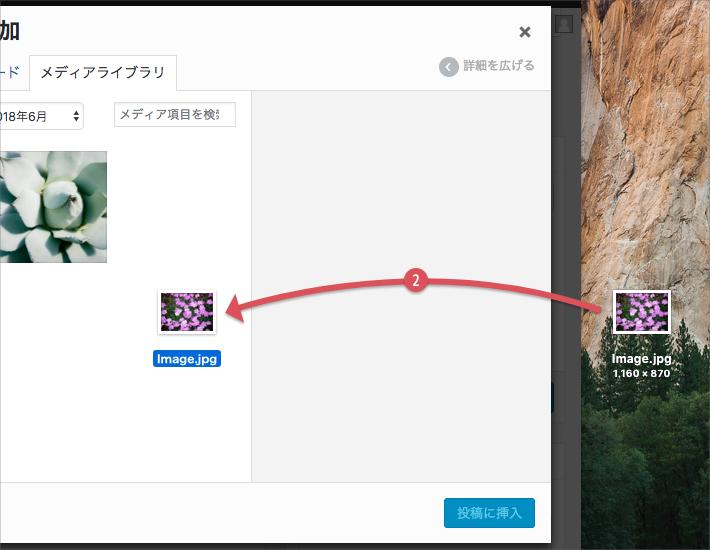 画像・ファイルを挿入する手順(2)